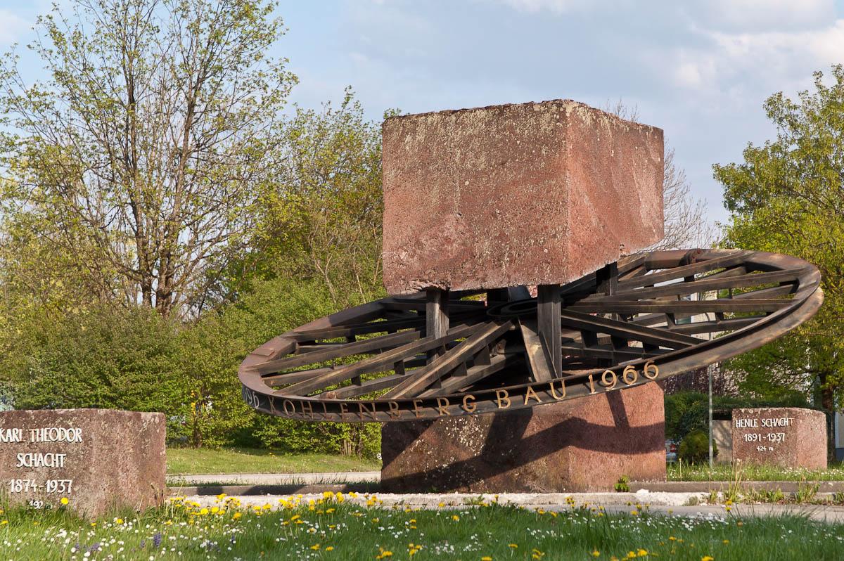 Penzberg Bergbau-Denkmal
