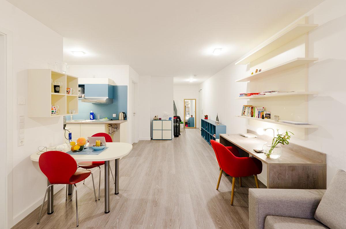 Apartment Superior Wohnzimmer