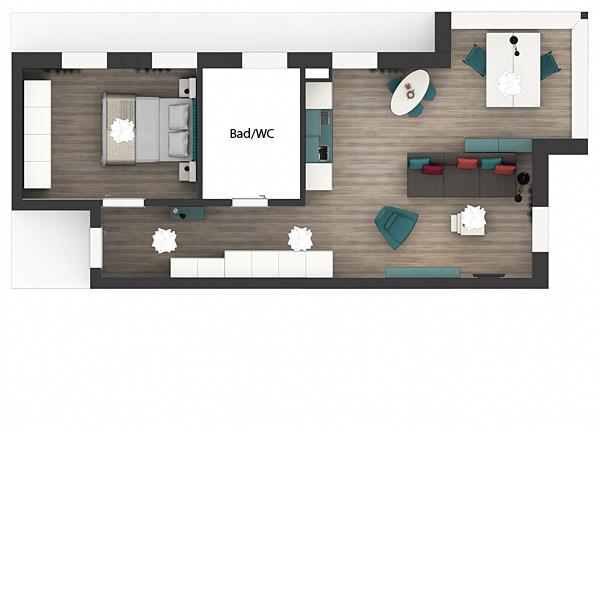 Grundriss Apartments Premium